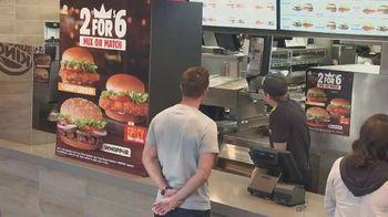 Burger King 2 for $6 Mix or Match TV Spot, 'Jackpot' - Thumbnail 1