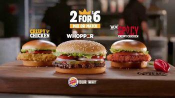 Burger King 2 for $6 Mix or Match TV Spot, 'Jackpot' - Thumbnail 9