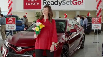 Toyota Ready Set Go! TV Spot, 'Flowers: 2018 Camry' - 1 commercial airings