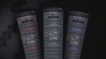 Winn Golf Dri-Tac Lite Grips TV Spot, 'Improved and Enhanced'