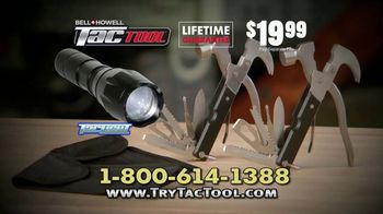 Bell + Howell Tac Tool TV Spot, 'All-In-One' Featuring Nick Bolton - Thumbnail 10