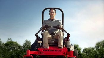 Gravely Mow the Distance Sales Event TV Spot, 'All-Day Performance' - Thumbnail 1