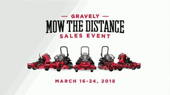 Gravely Mow the Distance Sales Event TV Spot, 'All-Day Performance' - Thumbnail 10