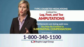 Shapiro Legal Group TV Spot, 'Invokana Settlements' - Thumbnail 6