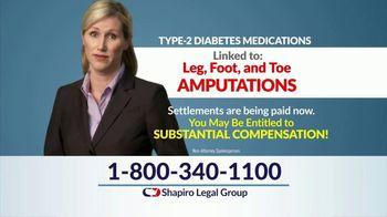 Shapiro Legal Group TV Spot, 'Invokana Settlements' - Thumbnail 7