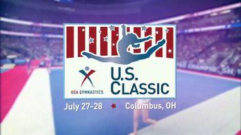 USA Gymnastics TV Spot, '2018 U.S. Classic: Columbus' - 261 commercial airings