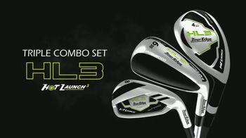Tour Edge Golf HL3 Triple Combo Set TV Spot, 'High-Launching Hybrids'