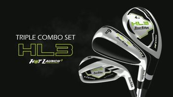 Tour Edge Golf Hot Launch HL3 Triple Combo Set TV Spot, 'Hybrids'