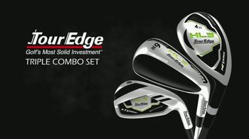 Tour Edge Golf Hot Launch HL3 Triple Combo Set TV Spot, 'Hybrids' - Thumbnail 8
