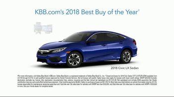 Honda Dream Garage Spring Event TV Spot, 'Service Upgrade: 2018 Civic LX' [T2] - Thumbnail 9