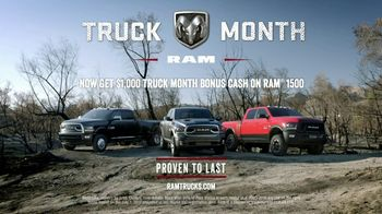 Ram Truck Month TV Spot, 'Long Live Passion: Grow Stronger' - Thumbnail 8