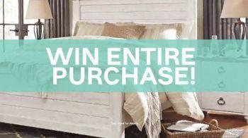 Ashley HomeStore Anniversary Sale TV Spot, 'Win Your Purchase' - Thumbnail 6