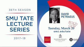SMU Tate Lecture Series TV Spot, 'ABC 8: David Petraeus'