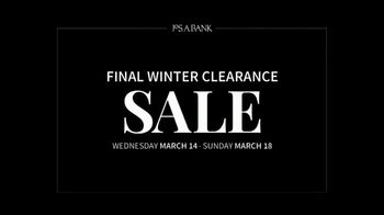JoS. A. Bank Final Winter Clearance Sale TV Spot, 'Extra Clearance' - Thumbnail 1