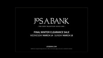 JoS. A. Bank Final Winter Clearance Sale TV Spot, 'Extra Clearance' - Thumbnail 5