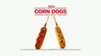 Sonic Drive-In 50 Cent Corn Dogs TV Spot, 'Best Friend: March 17th' - Thumbnail 9