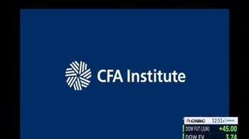 CFA Institute TV Spot, 'Let's Always Put Investors' Needs Above Our Own' - Thumbnail 1