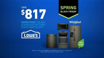 Lowe's Spring Black Friday TV Spot, 'The Moment: Stainless Kitchen Suite' - Thumbnail 7