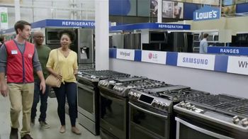 Lowe's Spring Black Friday TV Spot, 'The Moment: Stainless Kitchen Suite' - Thumbnail 5