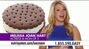 Nutrisystem Turbo 13 TV Spot, 'Ice Cream' Featuring Melissa Joan Hart - Thumbnail 1