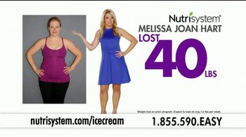 Nutrisystem Turbo 13 TV Spot, 'Ice Cream' Featuring Melissa Joan Hart - Thumbnail 2