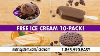 Nutrisystem Turbo 13 TV Spot, 'Ice Cream' Featuring Melissa Joan Hart - Thumbnail 5