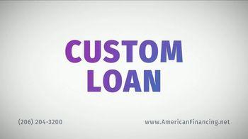 American Financing TV Spot, 'Custom Loan' - Thumbnail 3