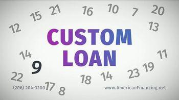 American Financing TV Spot, 'Custom Loan'