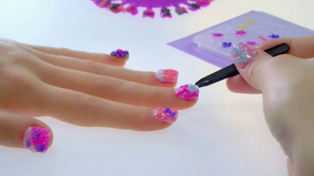Nail-a-Peel TV Commercial, \'Disney Channel: Nail Your True Style ...