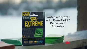 Post-it Extreme Notes TV Spot, 'For Tough Conditions' - Thumbnail 9