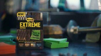 Post-it Extreme Notes TV Spot, 'For Tough Conditions' - Thumbnail 2
