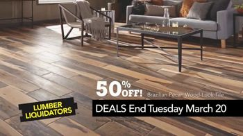 Lumber Liquidators Spring Black Friday Sale TV Spot, 'Lasting Style' - Thumbnail 10