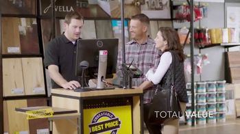 Lumber Liquidators Spring Black Friday Sale TV Spot, 'Lasting Style'