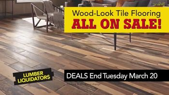 Lumber Liquidators Spring Black Friday Sale TV Spot, 'Lasting Style' - Thumbnail 9