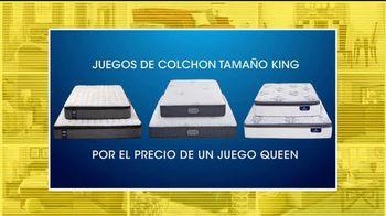 Rooms to Go Venta de Aniversario TV Spot, 'Colchones' [Spanish]