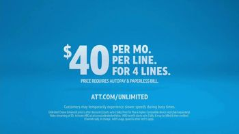 AT&T Unlimited TV Spot, 'More for Your Thing: Island' - Thumbnail 9