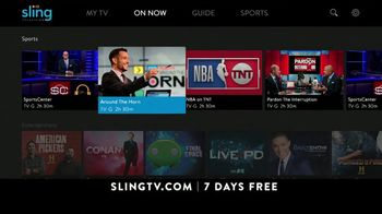 Sling TV Spot, 'Game Time' - Thumbnail 7
