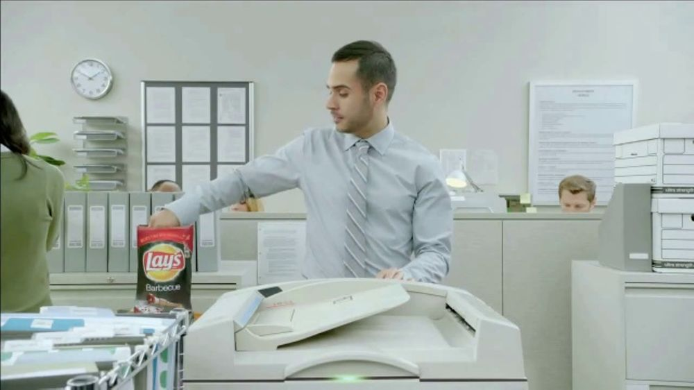 Lay's Barbecue TV Commercial, 'Copy Machine'
