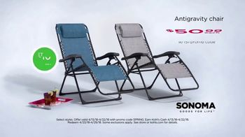 Kohl's TV Spot, 'Towels, Anti-Gravity Chair and Kitchen Electrics' - Thumbnail 6