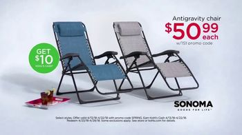 Kohl's TV Spot, 'Towels, Anti-Gravity Chair and Kitchen Electrics' - Thumbnail 7