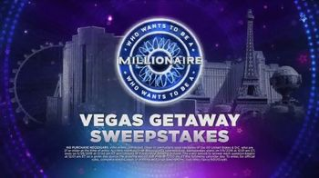 ABC TV Spot, 'Who Wants to Be a Millionaire? Vegas Getaway Sweepstakes' - Thumbnail 6
