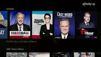 XFINITY X1 TV Spot, 'MSNBC Shows' - Thumbnail 3