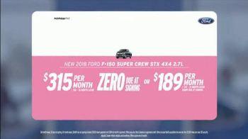 AutoNation Super Zero Event TV Spot, '2018 Ford F-150 SuperCrew' - Thumbnail 2