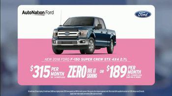 AutoNation Super Zero Event TV Spot, '2018 Ford F-150 SuperCrew' - Thumbnail 3