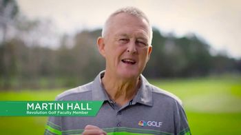 Revolution Golf TV Spot, 'Build a Better Golf Game' Featuring Martin Hall - Thumbnail 1