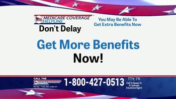 Medicare Coverage Helpline TV Spot, More Benefits'