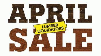 Lumber Liquidators April Sale TV Spot, 'Hardwood and Laminate' - Thumbnail 10