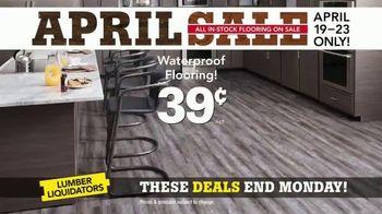 Lumber Liquidators April Sale TV Spot, 'Hardwood and Laminate' - Thumbnail 6