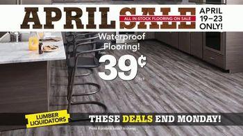 Lumber Liquidators April Sale TV Spot, 'Hardwood and Laminate' - Thumbnail 7