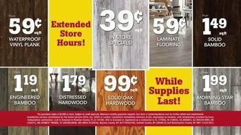 Lumber Liquidators April Sale TV Spot, 'Hardwood and Laminate' - Thumbnail 8
